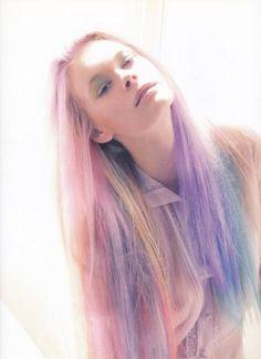 cheveux pastel violet - Coloration Cheveux Violet