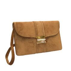 00b8fd83eb4 1960s Hermes Taupe Suede Clutch. Tana Hargest · 1stdibs Purses