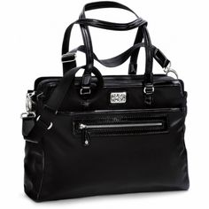 Thisis actually the Very Best bag I've ever owned.  Love!!!!                                         Title: Brighton – Brett Work It Tote Size: H: 11.5 W: 15 D: 5.5 (large)  Organization: EXTREME