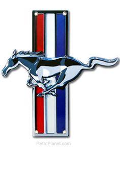 Small Mustang Logo Tin Sign #Cars #Speed #HotRod