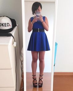 #queenmaarti #lbd #littlebluedress