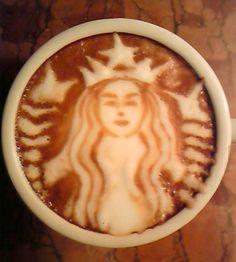 Starbucks Coffee Art - by Japanese coffee artist Kazuki Yamamoto.