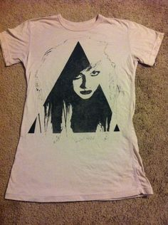 Vintage 1980s Lydia Lunch t-shirt