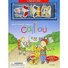 Caillou What Should I Wear? (Board)