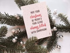 Champagne, Merry, Photo And Video, Christmas Ornaments, Lifestyle, Holiday Decor, Glass, Instagram, Drinkware