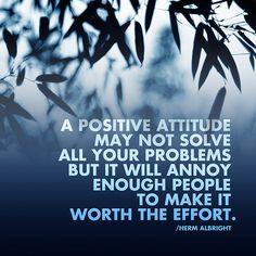 positive attitude - lol