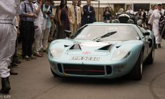 Ford GT 40 at the Goodwood Festival of Speed 2015