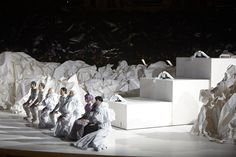 Don Giovanni set design by Frank Gehry