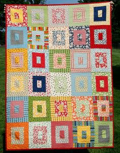 Beautiful quilt pattern. I think I might use some of my vintage sheets to do this one!