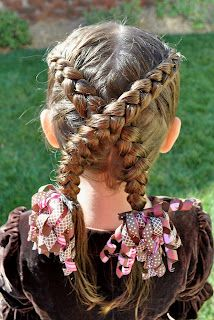 Princess Piggies: dutch braids x marks the spot
