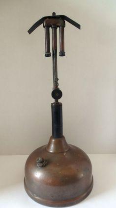 Vintage Brass Coleman QuicK-Lite Lantern No 57 Made In Wichita Kansas USA