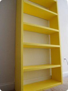 Lack Inspired Bookshelf