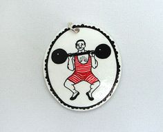 "pendant ""strong-man"" of Atelier Spunk at DaWanda.com"