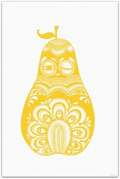 POSTER - FOLKLORIC PEAR AV MINI EMPIRE