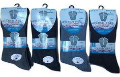 NEW 6X NON ELASTIC DIABETIC LADIES EASY GRIP LOOSE SOFT TOP RICH COTTON SOCKS