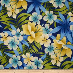Tommy Bahama Home Sugar Beach Riptide from @fabricdotcom  Screen printed on cotton duck; this versatile, medium weight fabric is perfect for window accents (draperies, valances, curtains and swags), accent pillows, bed skirts, duvet covers, slipcovers, upholstery and other home decor accents. Create handbags, tote bags, aprons and more. Colors include blue, lime, ivory, aqua, pale yellow and blue. This fabric has 15,000 double rubs.