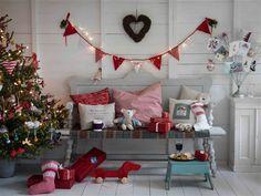 Darling set-up for kids for Christmas
