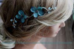 Haarschmuck & Kopfputz - Haarschmuck  - ein Designerstück von BarbaraDesign-02 bei DaWanda