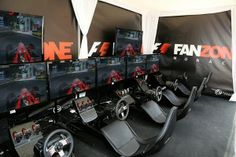 Pop-up F1 Fanzone to arrive at Olympic Park #booth #popup #eventprofs