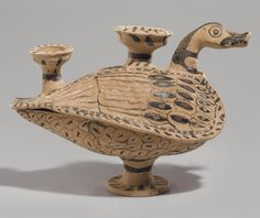AN ETRUSCAN POTTERY DUCK LEKANIS CIRCA 4TH CENTURY B.C. | Christie's