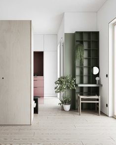 LIS is a design studio. founded in based in Lviv, Ukraine. Our studio focuses on projects in the fields of interior and furniture design. Design Hall, Tile Design, Small Space Design, Small Spaces, Open Spaces, Home Interior, Interior Design Living Room, Interior Livingroom, Scandinavian Interior