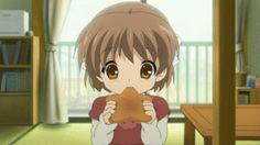 clannad+ushio | Clannad Ushio Eating