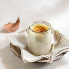 Bruleed chai-spiced pots de creme. A perfect fall dessert.