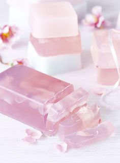 Pamper yourself with the floral fragrance of soap that you have made yourself