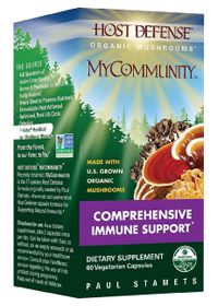 Host Defense Organic Mushrooms      Host Defense MyCommunity 1050 MG        , 60.0 Each , Capsules