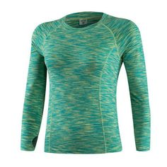 Compression Tights Women's Workout T-shirts Dry Quick Casual Tees Long Sleeve Fitness Women Clothes