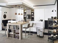 20 cuisines de rêve ! Photo Cuisine Moderne, Ilot Cuisine, Cuisine Ouverte,  Meuble 99e32fd5d1fb