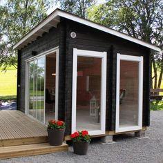 Billedresultat for mökki 25 moderni Restaurant Design, Tiny House, Shed, Outdoor Structures, Windows, Urban, City, Spring, Outdoor Decor