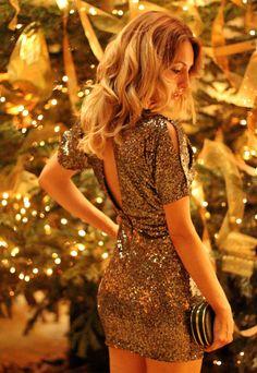 CHRISTMAS OUTFITS II   SEQUINS DRESS - Mes Voyages à Paris