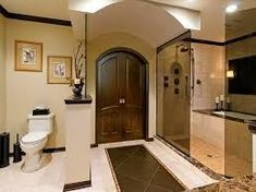 Master bathroom designs without a tub master bath without tub contemporary master bathroom floor plans no . master bathroom designs without a tub Master Bedroom Bathroom, Luxury Master Bathrooms, Small Bathroom, Bathroom Towels, Luxurious Bathrooms, Bathroom Tubs, Gold Bathroom, Bath Tub, Modern Bathroom