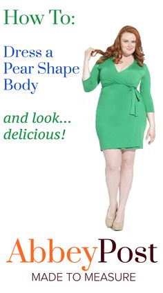 Dress styles for plus size pear shapes