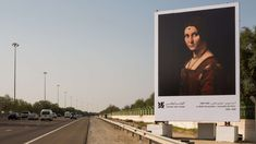 The Louvre Abu Dhabi Installs Highway Gallery of Masterpieces http://ift.tt/2ot7CgS