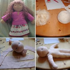 Handmade Waldorf doll tutorial
