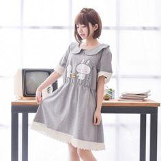 Japanese cute bunny sweet dress