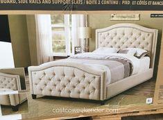 Pulaski Upholstered King Bed | Pulaski Furniture Queen Upholstered Bed |  Costco Weekender