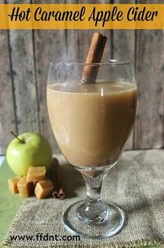Try this easy recipe for Hot Caramel Apple Cider. It's the traditional Apple Cider with a delicious twist. Apple Recipes, Pumpkin Recipes, Fall Recipes, Holiday Recipes, Easy Dinner Recipes, Easy Meals, Holiday Meals, Yummy Drinks, Yummy Food