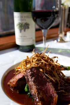 Special Menu Item from our Grgich Hills Vintner's Lunch
