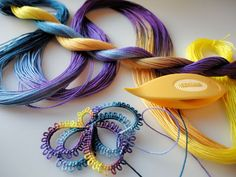 Yarnplayer's Tatting Blog: Pansy