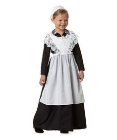 lady's maid anna girls costume - Only at Chasing Fireflies - As a loyal lady's maid, proper attire is a must before one heads upstairs.