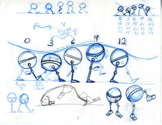 Planning sheet for Principles of Animation