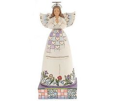 Jim Shore Heartwood Creek Healing Hands Nurse Angel Figurine
