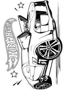 Hot Wheels Coloring Pages - Set 2. A huge collection of Hot Wheels ...