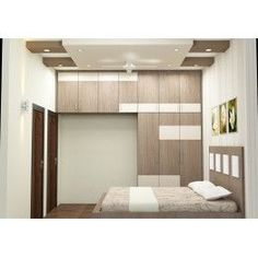 Greta Bedroom Furniture Online Sale at Scale Inch. COD and EMI options available on our products. Wardrobe Laminate Design, Wardrobe Door Designs, Wardrobe Design Bedroom, Bedroom Cupboard Designs, Bedroom Bed Design, Bedroom Cupboards, Bedroom Furniture Design, Modern Bedroom Design, Bedroom Sets