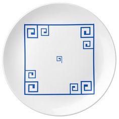 Greek Style 27.3 cm Decorative Porcelain Plate