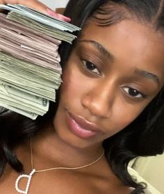 Message For Boyfriend, Pretty Black Girls, Sleek Hairstyles, Black Girl Aesthetic, Photo Dump, Pretty People, Face, Money Stacks, Business Goals