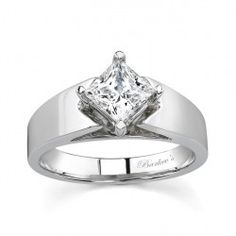 Princess Cut Solitaire engagement  Ring - 7156LW